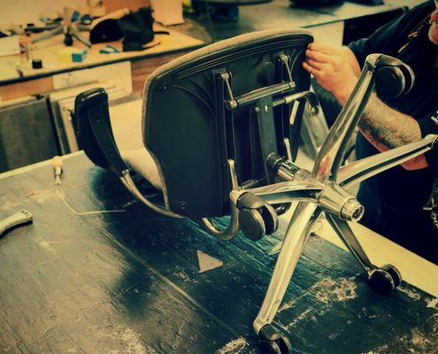 Реставрация офисного кресла Ростов